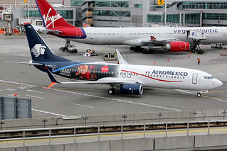 "XA-AMM | Boeing 737-852/W | AeroMexico (special ""Coca-Cola"" holiday colours) 