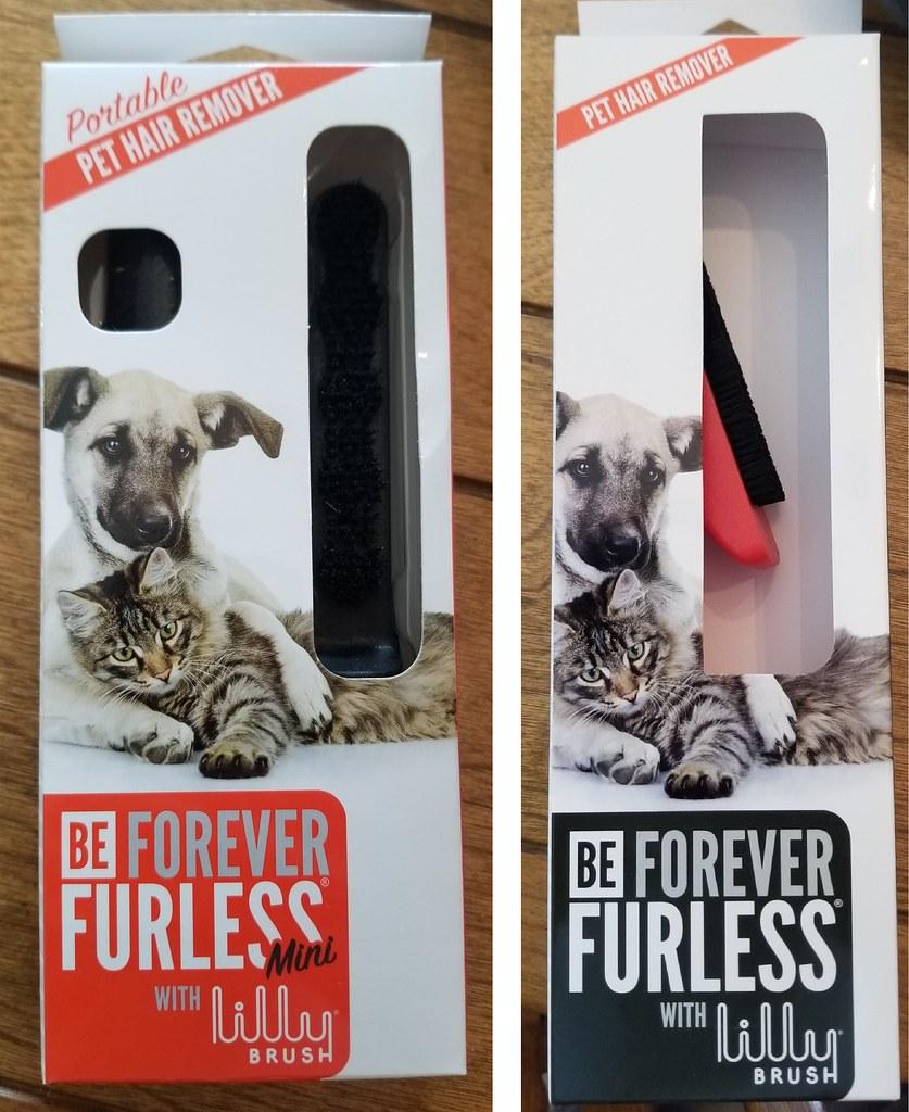 Forever Furless Packaging