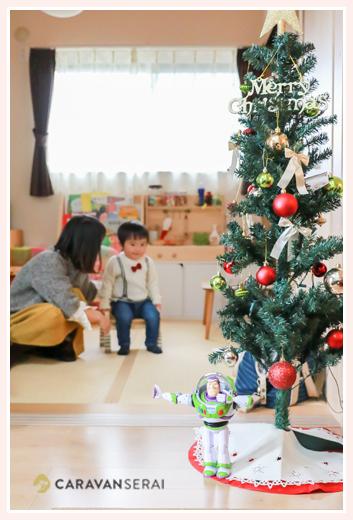 ご自宅で100日祝い・お食い初め写真(名古屋市守山区)女性出張カメラマンが撮る自然でおしゃれな家族写真