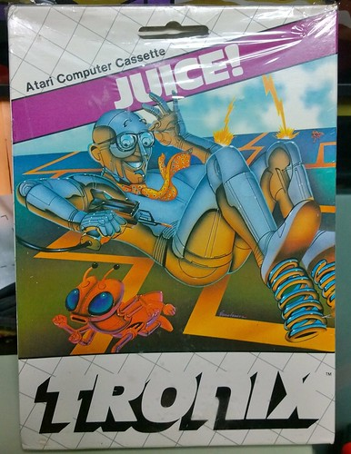Juice! (Atari 8 bits, Tronix) | by Deep Fried Brains