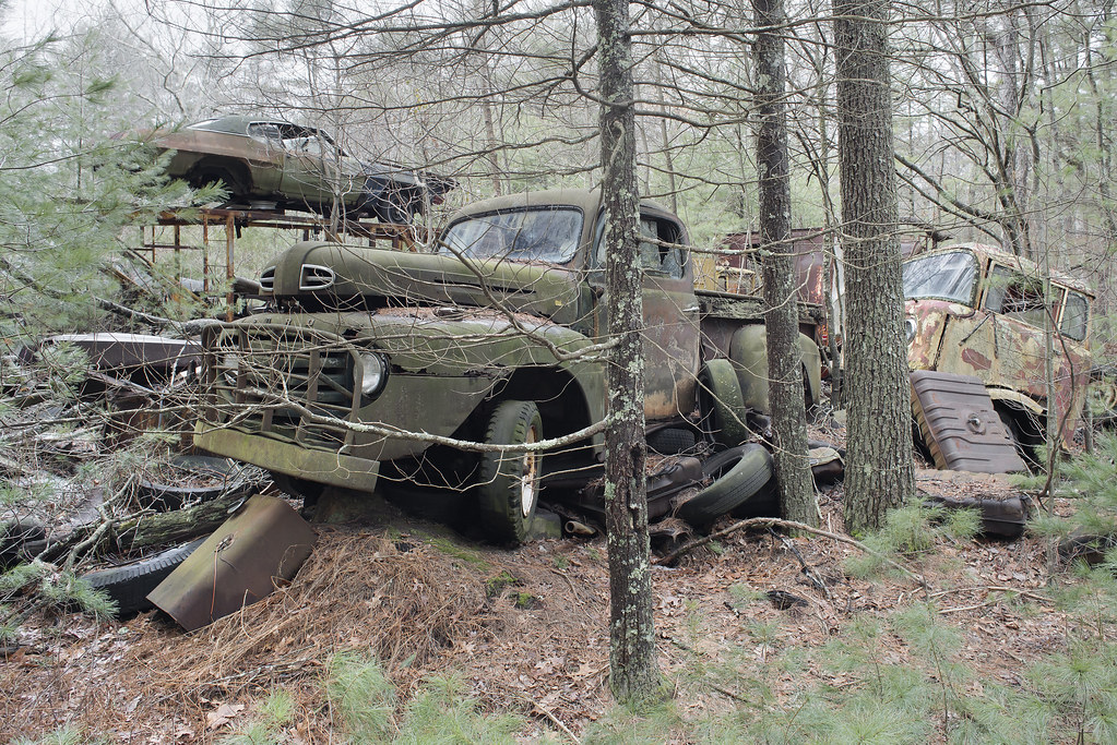 The Classics Junkyard | Abandoned Vehicle Junkyard, USA | Flickr