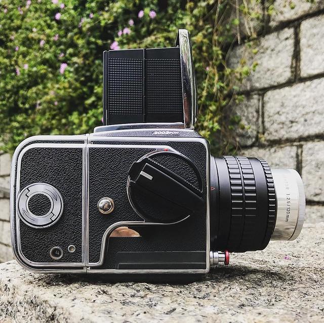 Leica Hektor 120mm f2.5 投影頭大底試玩
