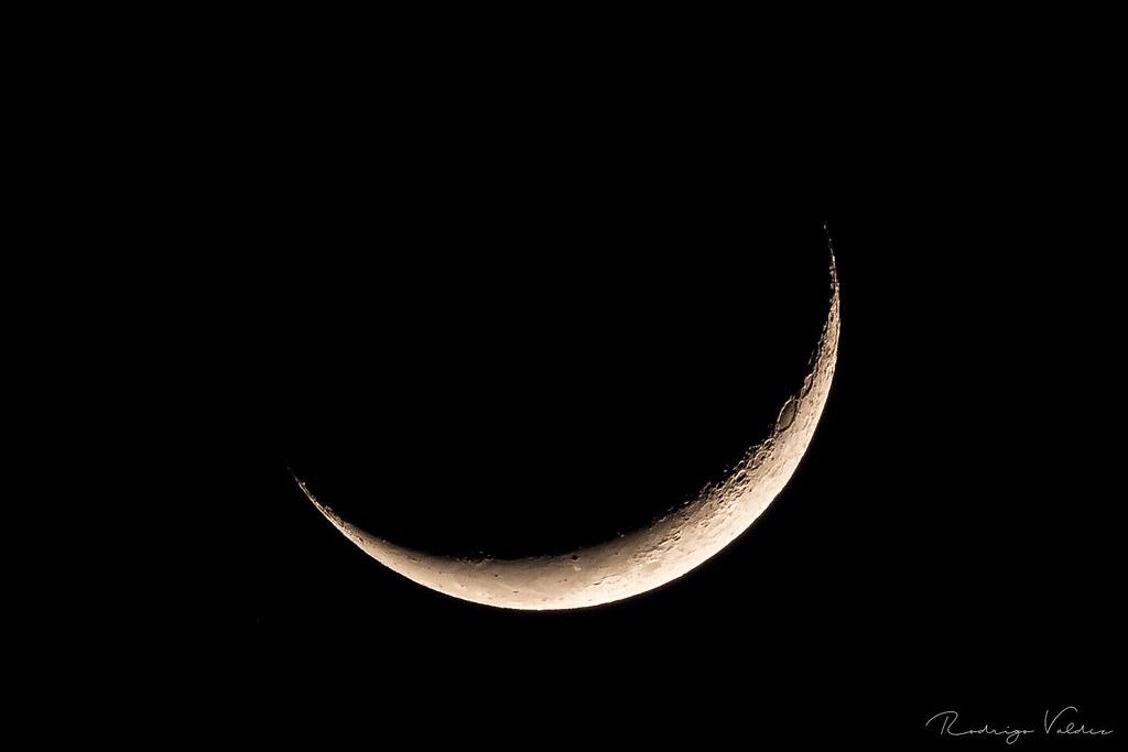 Luna - Cuarto Creciente | Rodrigo Valdez | Flickr