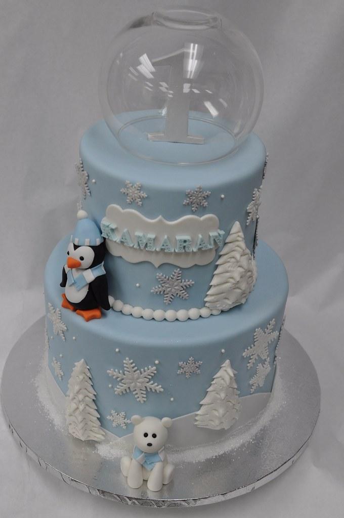 Winter Wonderland Birthday Cake Jenny Wenny Flickr