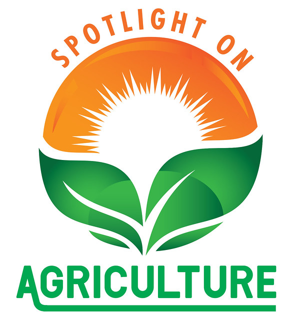 """Logo for the """"Spotlight on Agriculture"""" show on APT"""