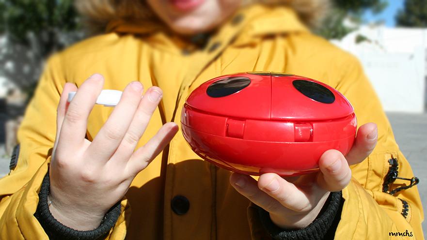 lanzador de akumas de Ladybug