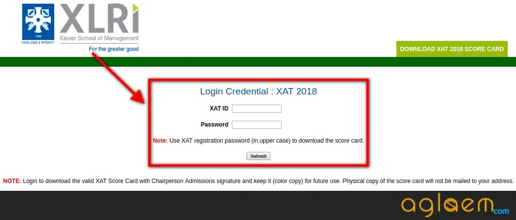 XAT 2018 Results