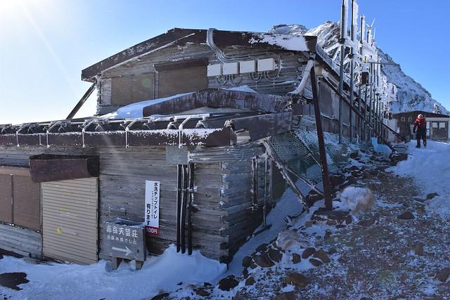 冬の赤岳天望荘
