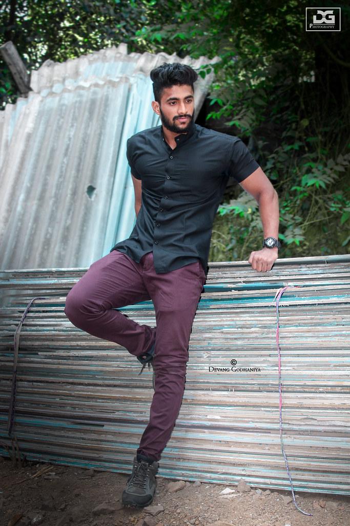 Photoshoot poses male