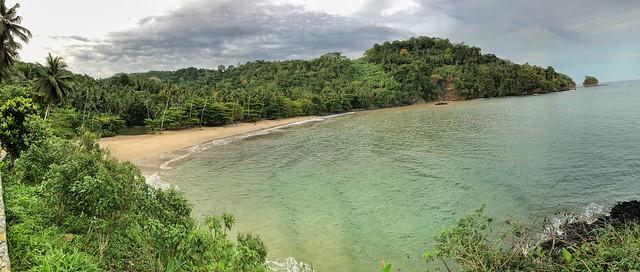 Praia Micondó, una de las más bonitas que ver en Santo Tomé y Príncipe
