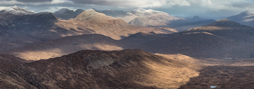 The Mamores | by J McSporran