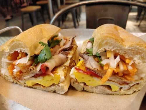 Vietnamese Ham Sandwich