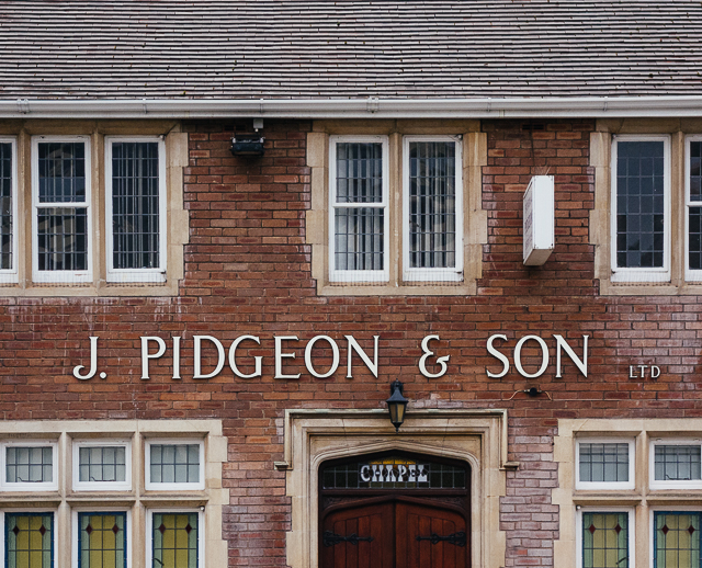j. pigeon and son, canton