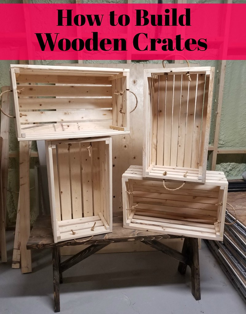 how to build wooden crates