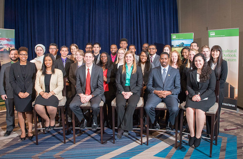 USDA Student Diversity Program winners from the class of 2016