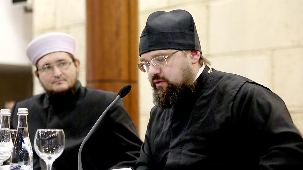 Rev. Dimitry Safonov, Representing Metroplitan Hilarion