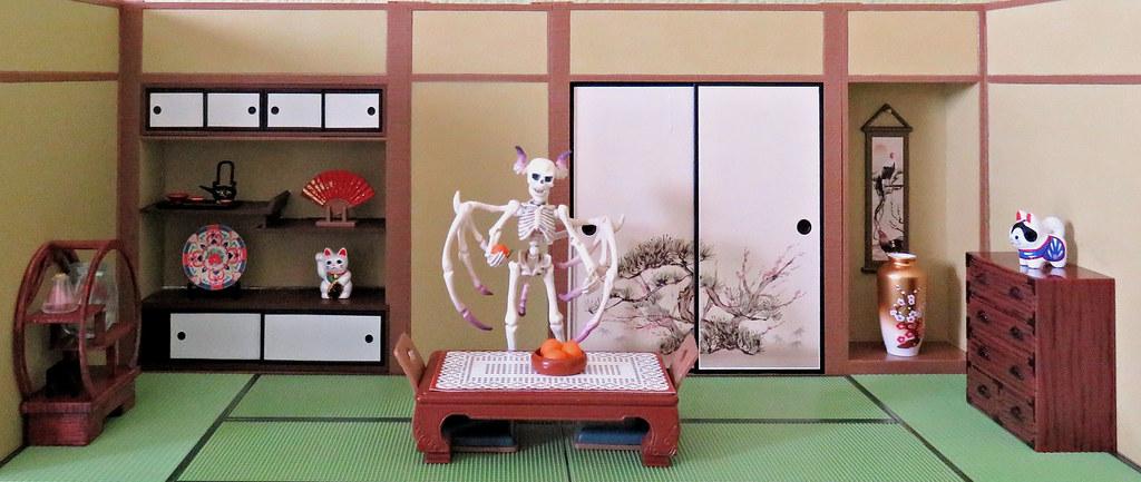 ... MurderWithMirrors Washitsu Chigaidana Staggered Shelf U0026 Washitsu  Oshiire Closet Sets | By MurderWithMirrors