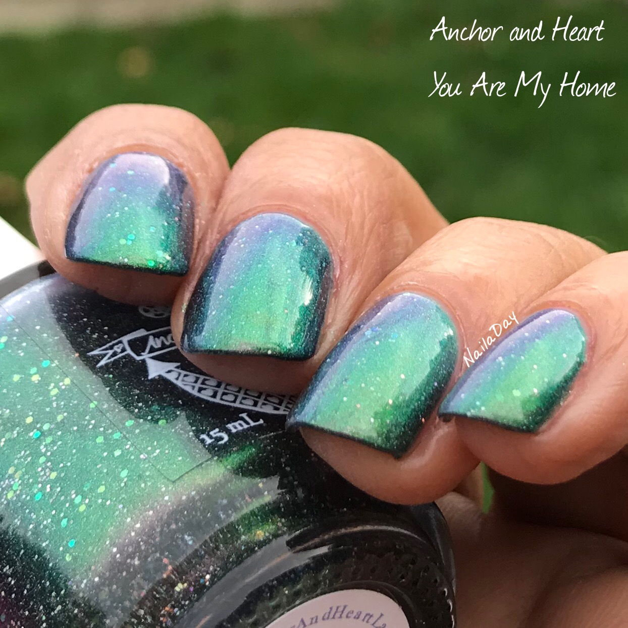 NailaDay: Anchor & Heart You Are My Home