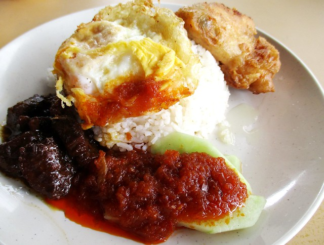 Fast Cafe nasi lemak special
