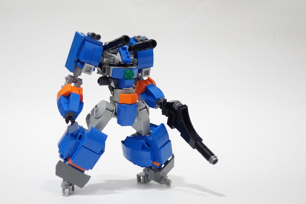 blue buster r 02 | Blue Buster R Frame - EO Frame Build Vide… | Flickr