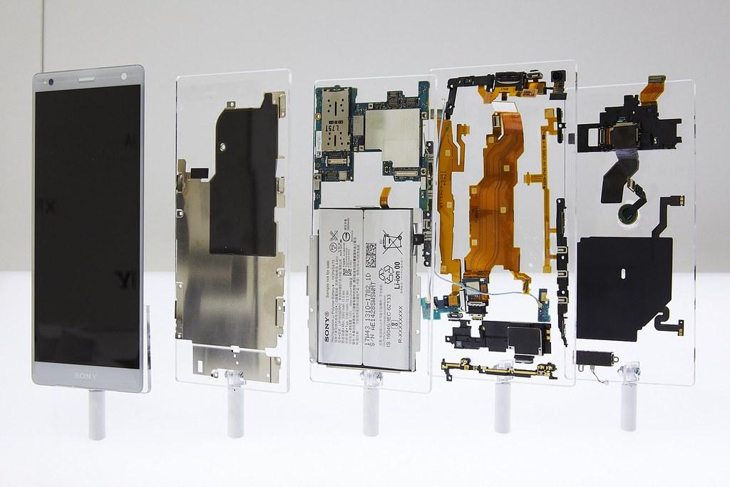 Xperia XZ2のスペック比較