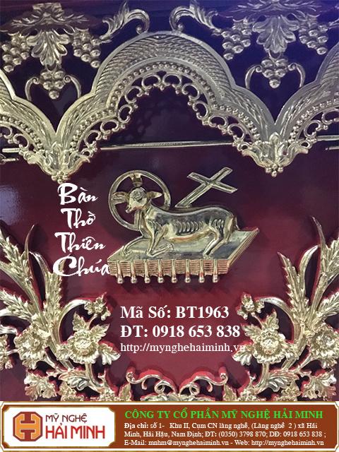 BT1964b Ban Tho Thien Chua do go mynghehaiminh