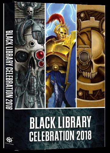 Анталогия рассказов Black Library Celebration 2018