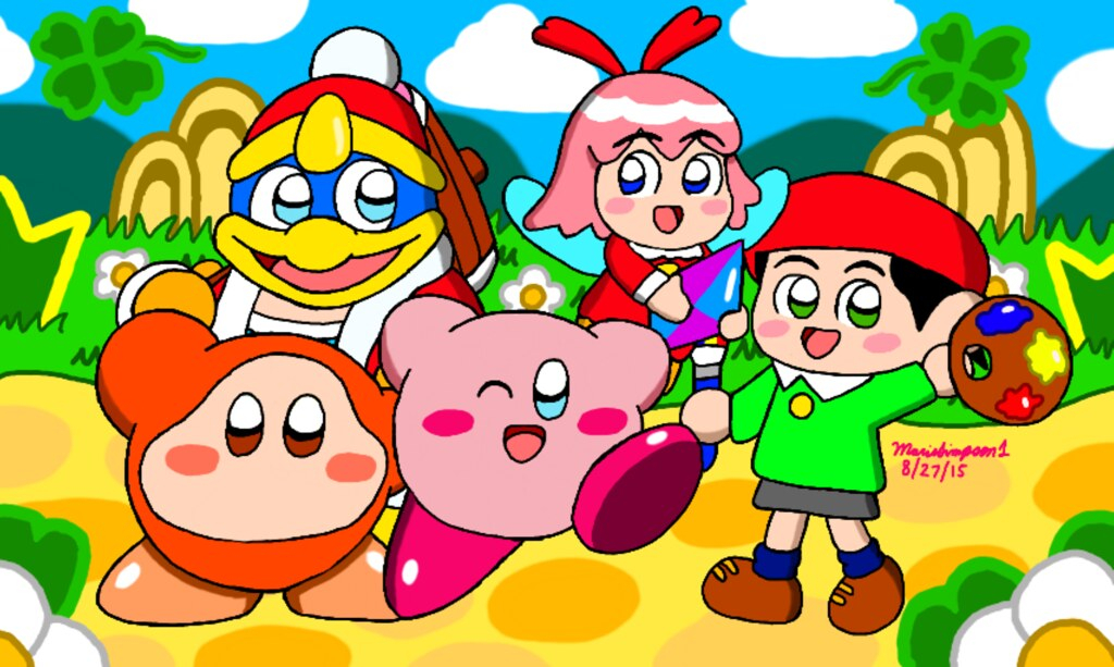 kirby 64 the crystal shards by nintendo_64