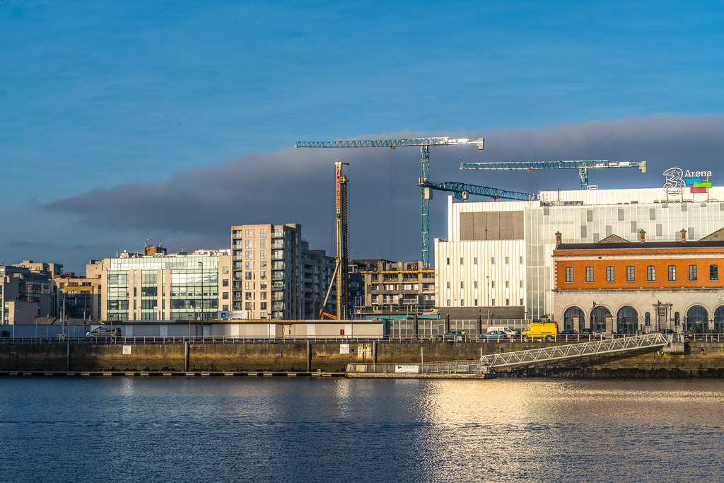 DOCKLANDS AREA OF DUBLIN - NOW A MASSIVE CONSTRUCTION SITE 007