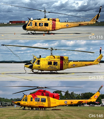 RCAF-SAR-small-helis | by Kon_Bar