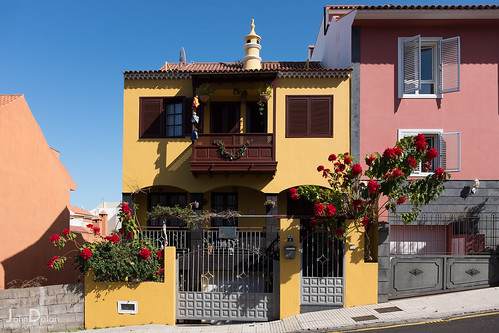 colour on the hill | la orotava | tenerife | by John FotoHouse