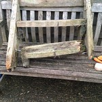 Timber Framer - Oak shepherd hut steps