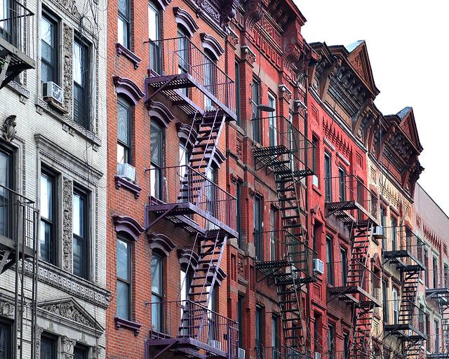 Calles del SoHo de Nueva York donde se rodó la película de Ghost