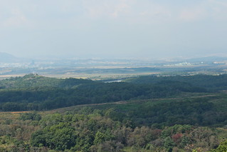 View towards Kaesong and North Korea from the Dora observatory, DMZ | by Timon91