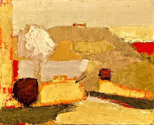 paysage  1953  - nicolas de stael  1914