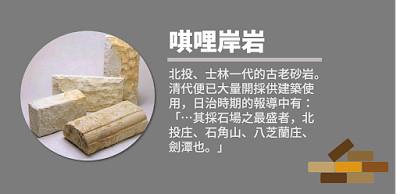 7_唭哩岸岩是在地特產、優良的石材(圖片來源:source)