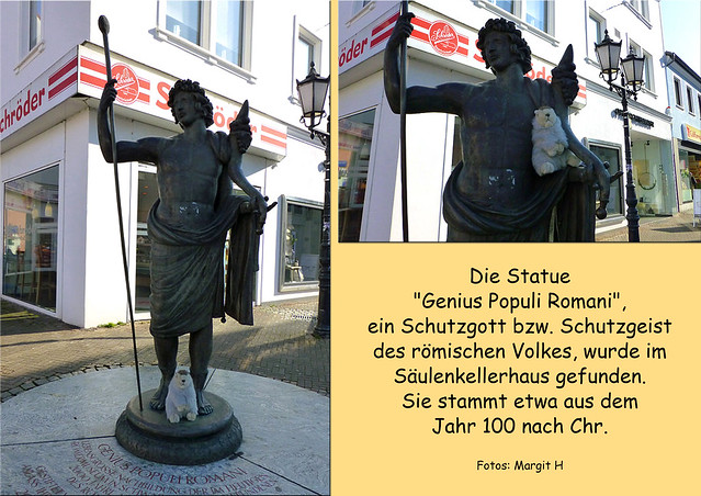 Februar 2018_Karla Kunstwadl in Homburg (Saarland) ... Genius populi romani_Kunst im öffentlichen Raum ... Fotos: Margit H