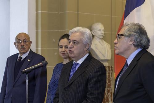 Chile asumió Presidencia del Consejo Permanente de la OEA