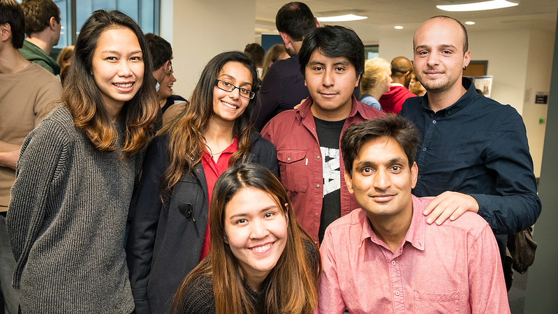 A group of University of Bath doctoral students