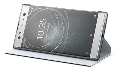 An optional accessory for the Sony Xperia XA2 Ultra is the Style Cover Stand that comes in Black or Grey.