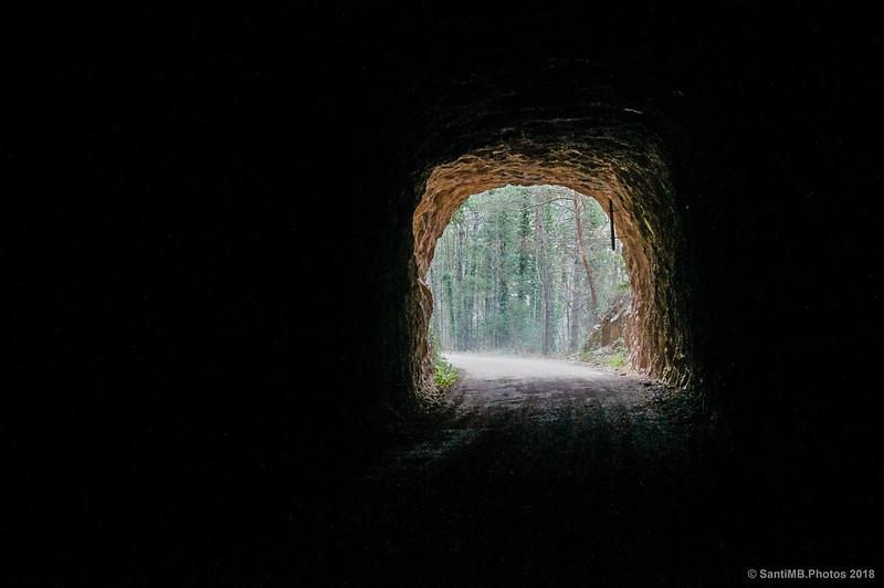 Túnel del a Vía Verde del Carrilet del Llobregat