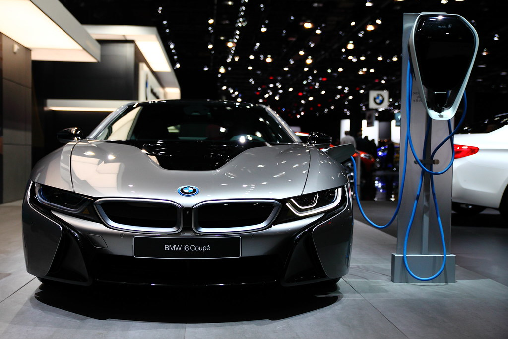 Bmw I8 Coupe 2018 1 2018 North American International Au Flickr