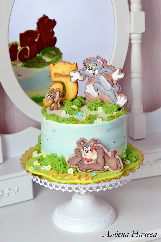 Tom And Jerry Birthday Cake Albena Nacheva Flickr