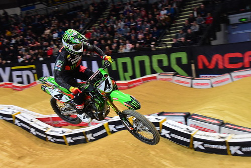 Adam Chatfield, Pro, Arenacross Tour, Sheffield 2018