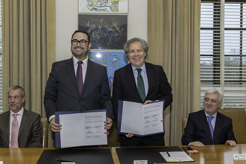OAS and the Association of Electoral Tribunals of Mexico to Strengthen Research and Professional Development in the Legal-Electoral Area