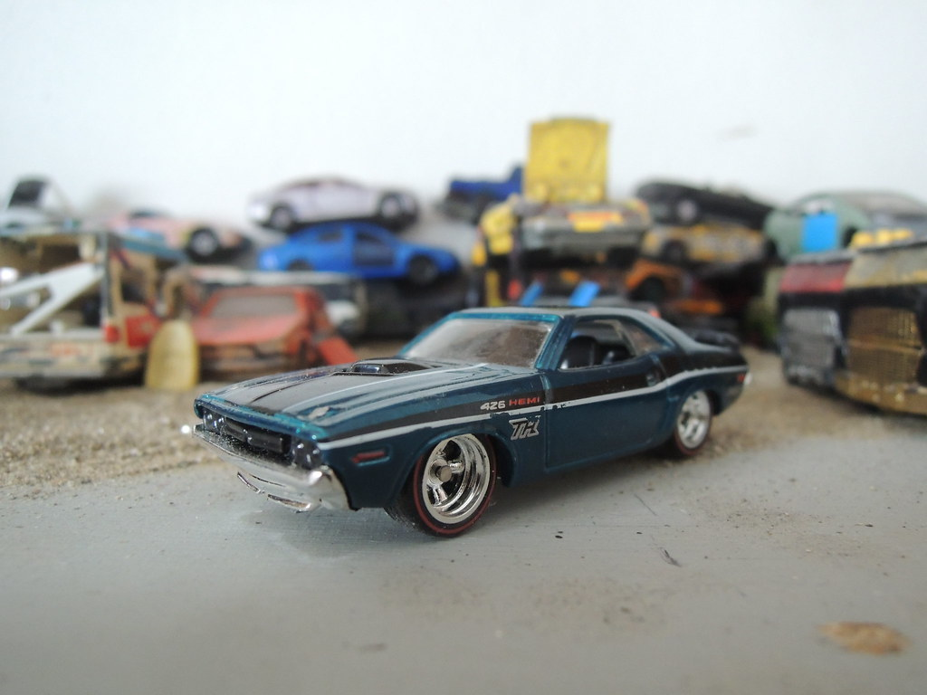 71 Dodge Challenger 71 Dodge Challenger Hot Wheels Trea Flickr