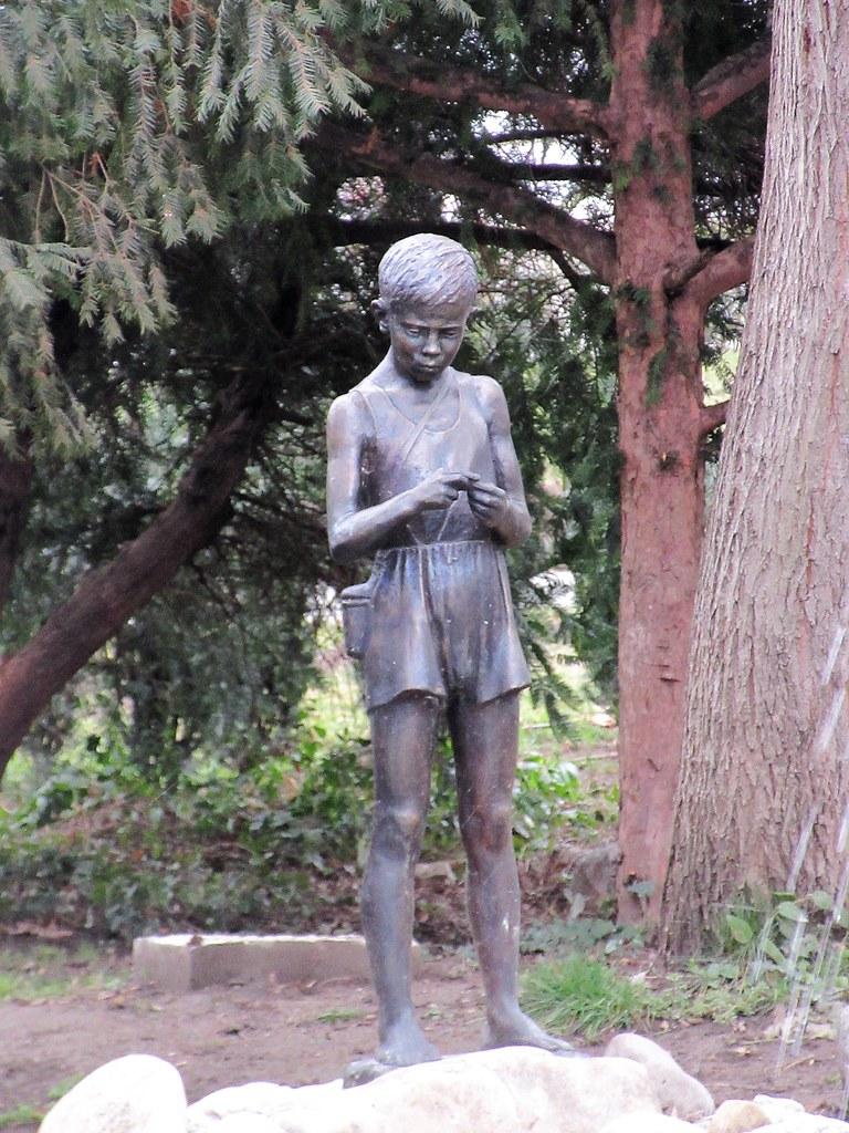 ... Little Boy Statue, Pond In Tsar Simeonu0027s Garden, Plovdiv, Bulgaria   By  Paul