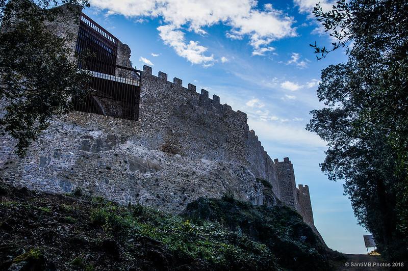 Parte norte del Castell de Montsoriu