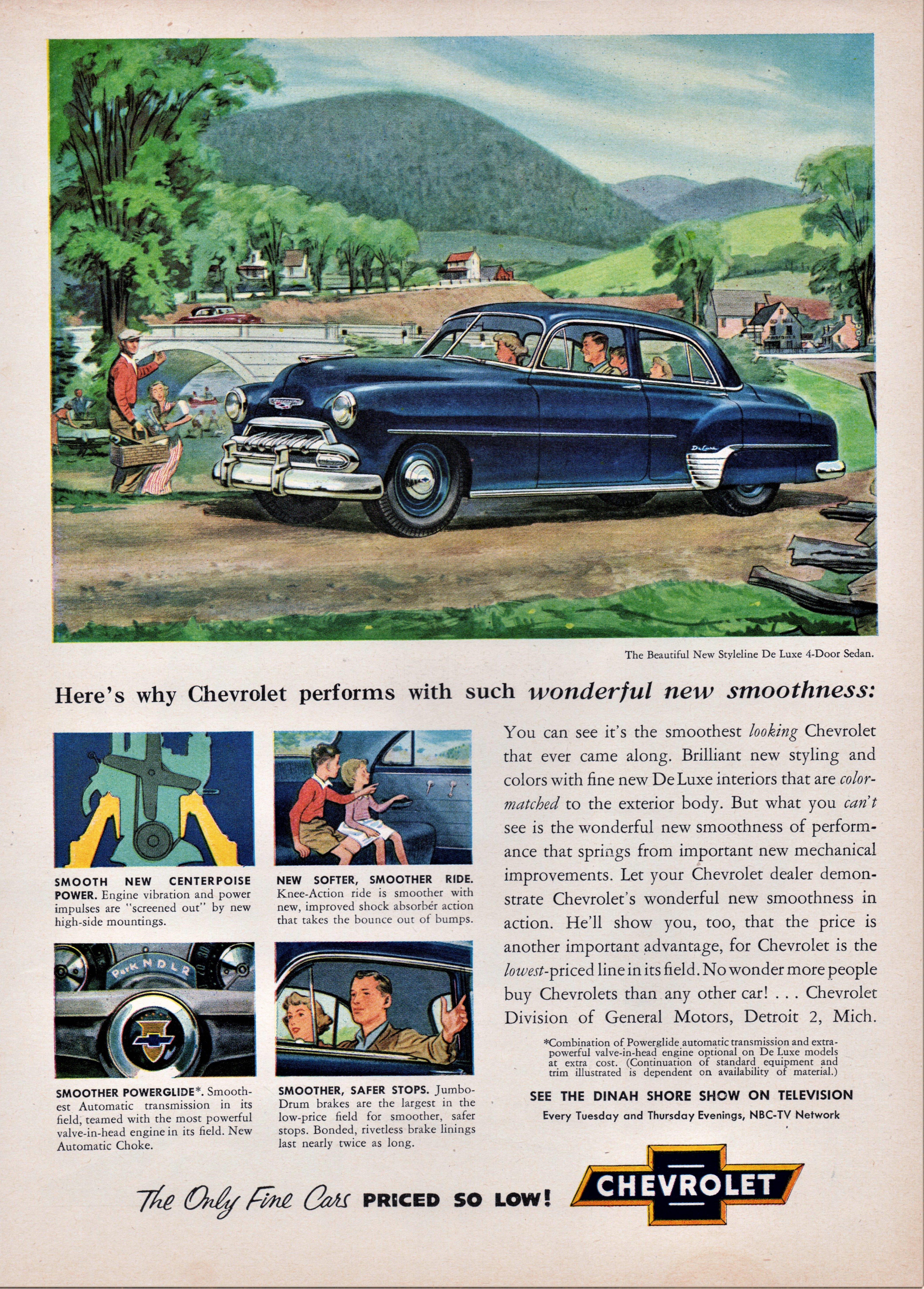 1952 Chevrolet Styleline De Luxe 4-Door Sedan