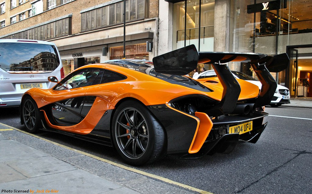 Mclaren P1 Lm Oversized Wing Some Crazy Days Passed